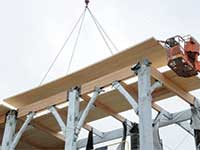 Opportunity Knocks…on Wood Local project exhibits first-of-its-kind structure | Lab Notes