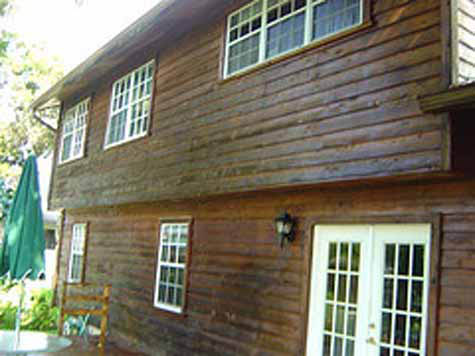House Stained Siding