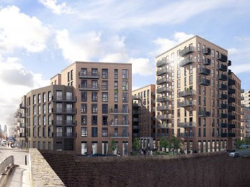 Dalston Lane is a 121-home development set to open in London this summer.